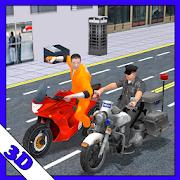 Police Bike Criminal Chase 3d