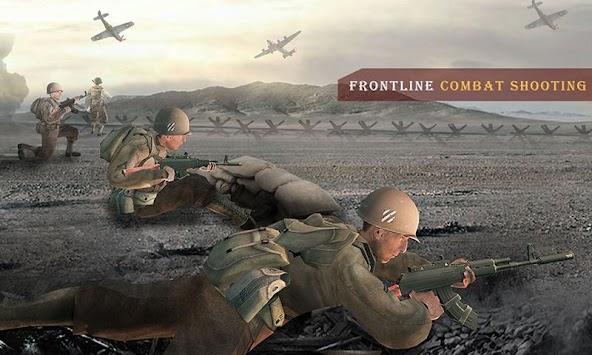 US Army WW2 Battlegrounds Call Of World War 2 Game