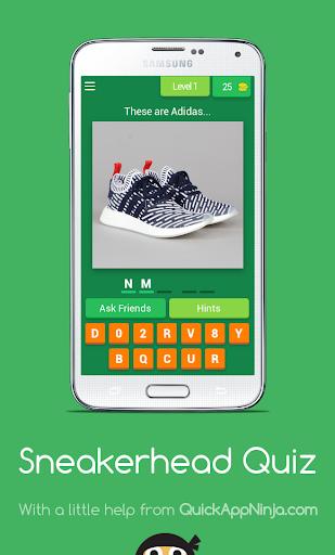 Sneakerhead Quiz android2mod screenshots 1
