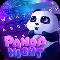 Panda Night Keyboard Theme icon