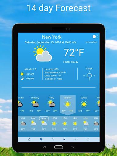 Weather 2 weeks 6.0.7 Screenshots 7