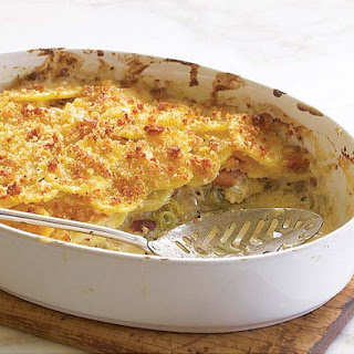 Gratin Potato Bacon Cheese Recipes