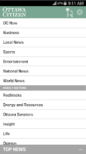 Ottawa Citizen screenshot 3