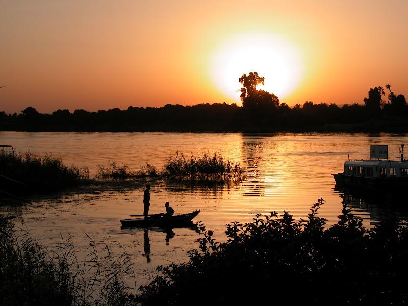 tramonto sul Nilo di simi1967