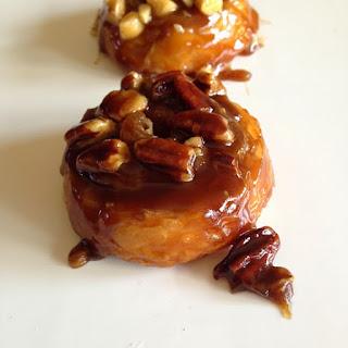 Croissant Caramel Sticky Buns.