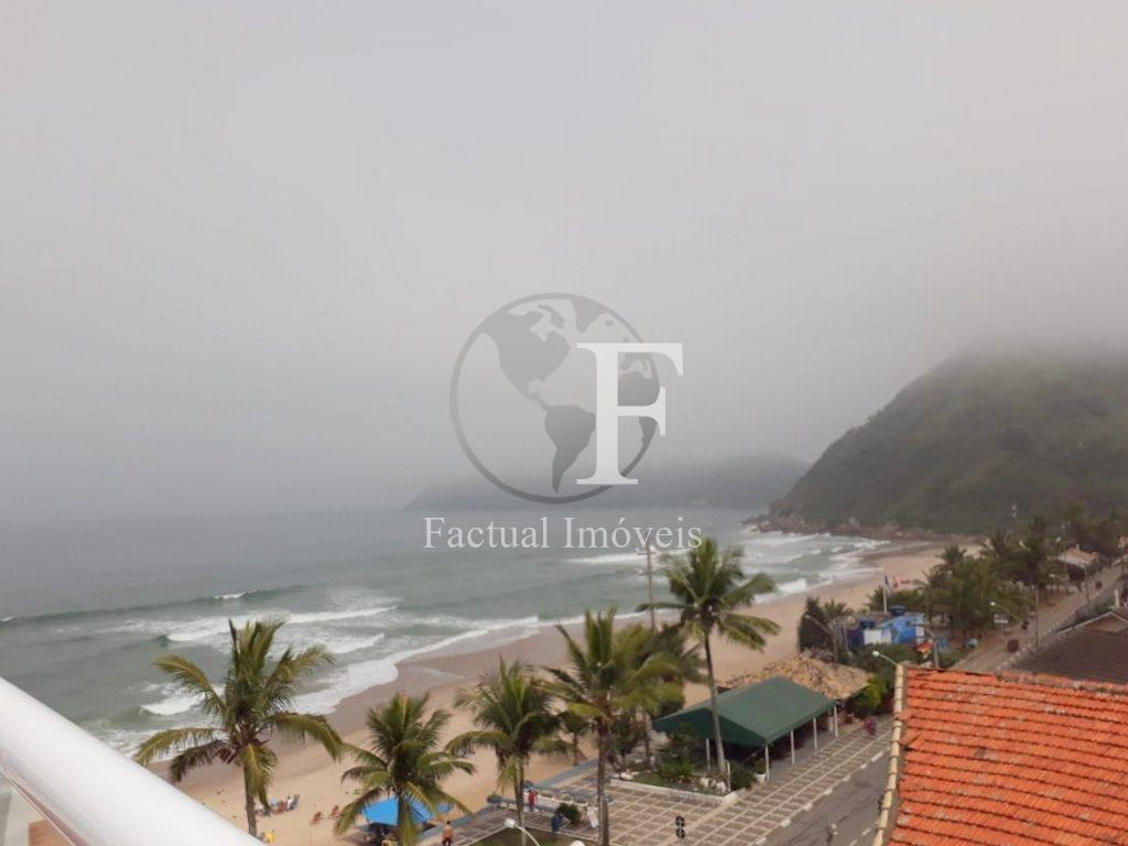 Apartamento residencial à venda, Praia do Tombo, Guarujá