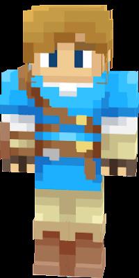 Link Zelda Nova Skin - Skins para minecraft zelda