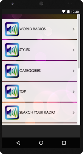 World Radio FM AM Tuner Radio App For Android 2.9 screenshots 1