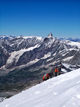 Photo: Approaching Briethorn main summit