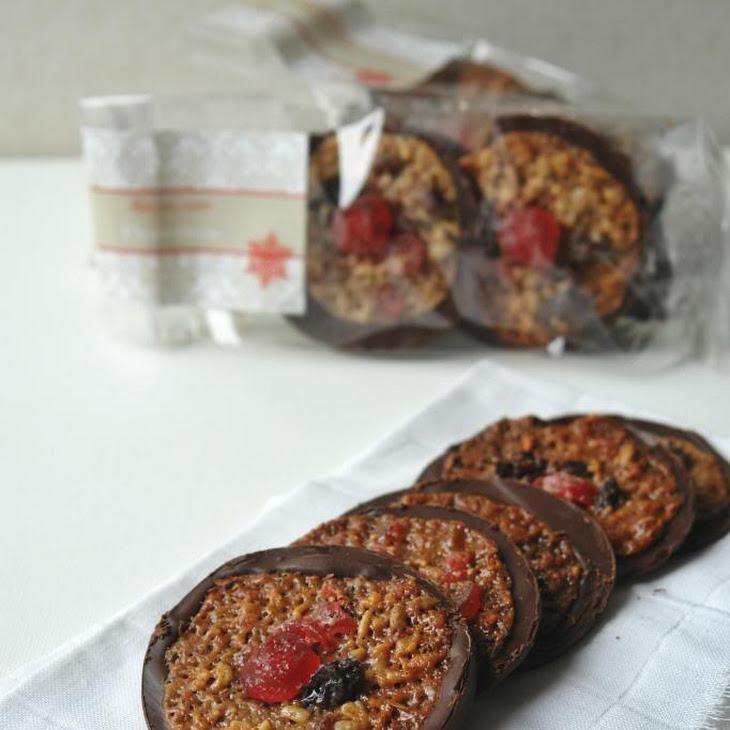 Christmas Florentine Cookies - Thermomix Recipe