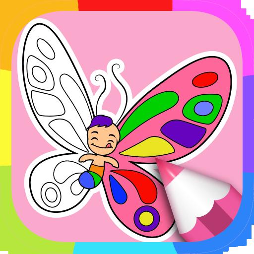 Mewarnai Gambar Kupu Kupu Aplikasi Di Google Play