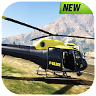 Police Helicopter : Crime City Rescue Flight 3D icon