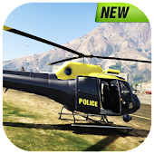 Police Helicopter : Crime City Rescue Flight 3D