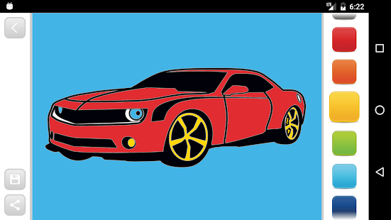 Cars Coloring Book - náhled
