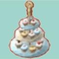 アフタヌーンなケーキセット