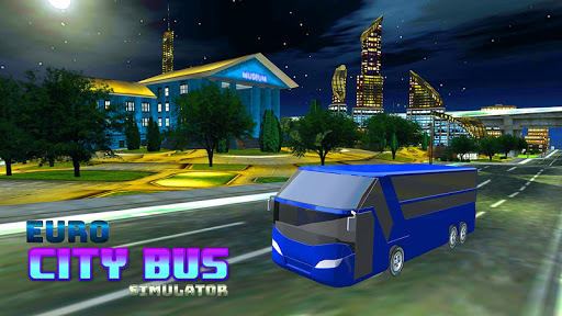 Real Euro City Bus Simulator 2019 Game 1.0.3 screenshots 2