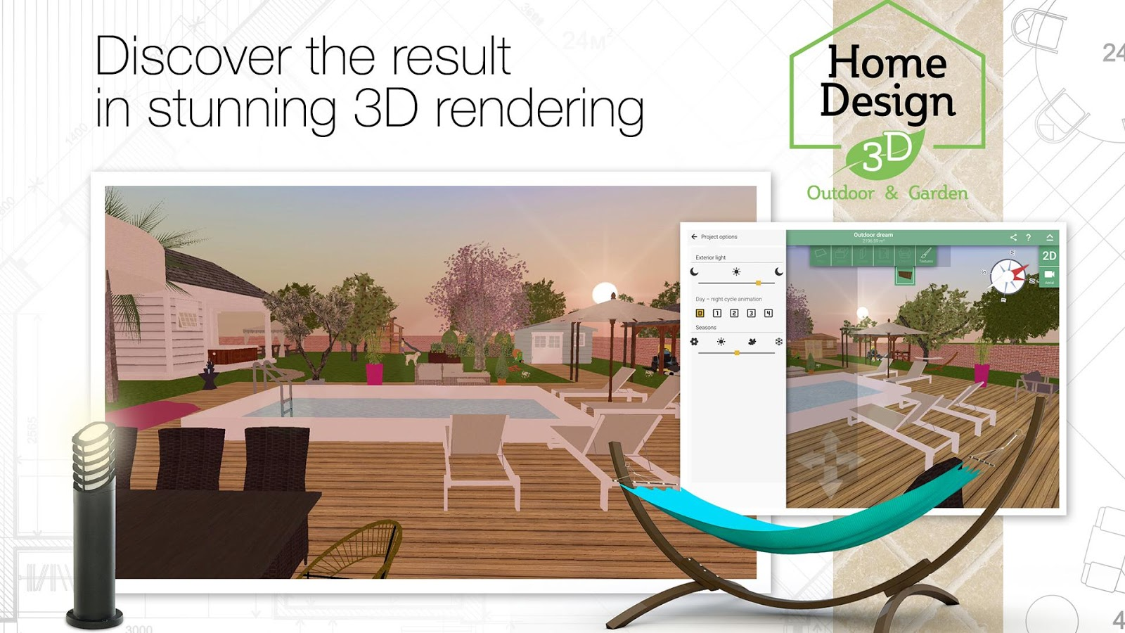 Home design 3d outdoor garden android apps on google play for Design your own home landscape