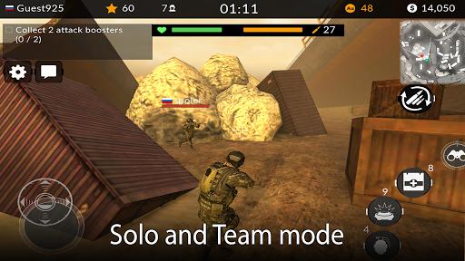 Code Triche Code of War: Shooter Online APK MOD screenshots 3