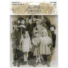 Tim Holtz Idea-Ology Paper Dolls Die-Cuts 23/Pkg - Christmas 2020