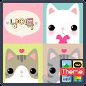 노랑박스 냥이_카카오톡 테마 icon