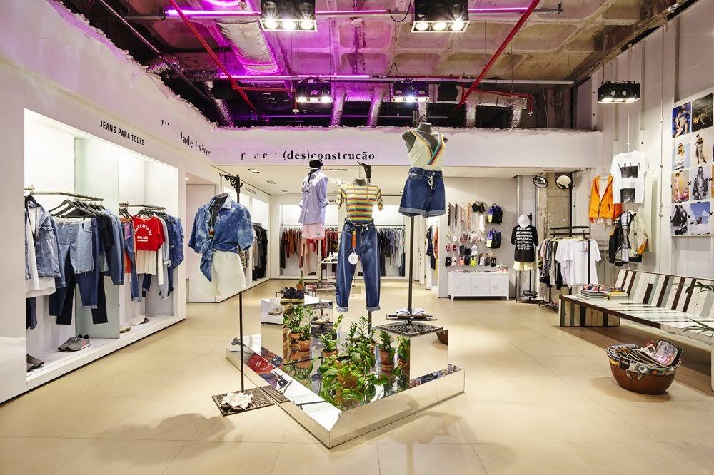 Thiết kế shop thời trang nữ - thiết kế shop quần áo nữ 1