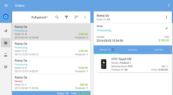 OpenCart Mobile Assistant- screenshot thumbnail
