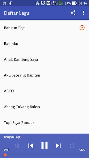 Lagu Anak Indonesia 1.0 screenshots 8
