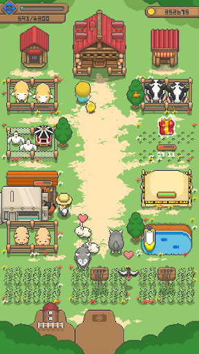 Tiny Pixel Farm - Ranch Farm Management Spiel screenshot 2