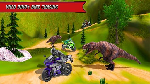 Bike Racing Dino Adventure 3D  screenshots 4