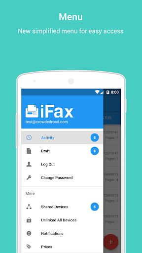 玩免費商業APP|下載iFax - Send & Receive Faxes app不用錢|硬是要APP