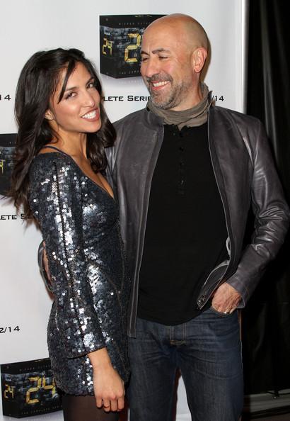 Nazneen Contractor with her husband Carlo Rota