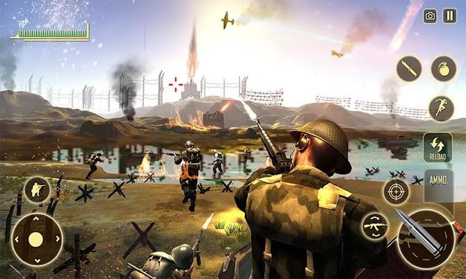 WW2 Survival War Prisoner : FPS Shooting Game Android 1