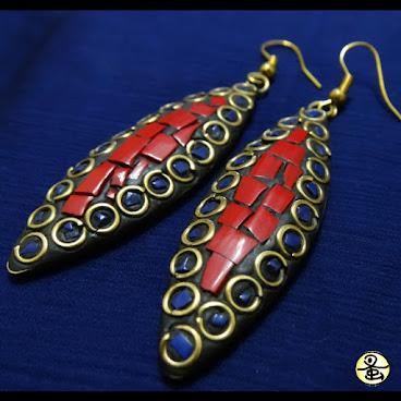 馬賽克耳環 Mosaic Earrings