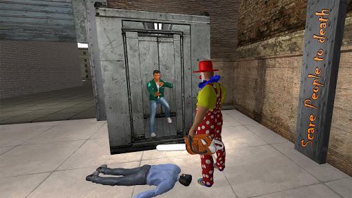 Killer Clown Attack Crime City Creepy Pranks Sim for PC