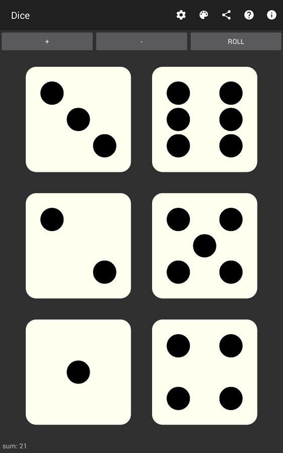 Dice- screenshot