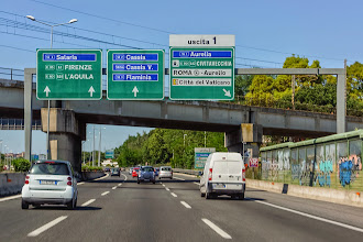 Photo: Sign for Uscita 1.  I would say the highways were fairly well signed.