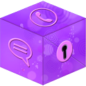 Secret Call&SMS- Violet style icon