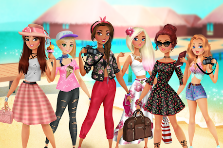Vacation Summer Dress Up 1