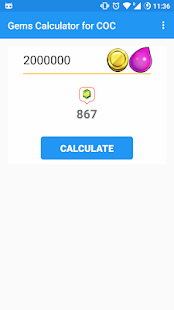 Gems Calculator for Clash Of Clans