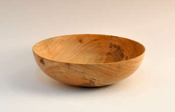 "Photo: Terry Lamb - Bowl - 7.5"" x 2.5"" - Maple"