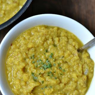 DAL - Indian Spiced Lentils.