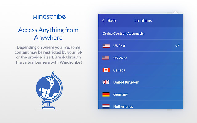 Windscribe - Free VPN and Ad Blocker