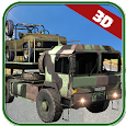 Army Cargo Trucks Parking 3D