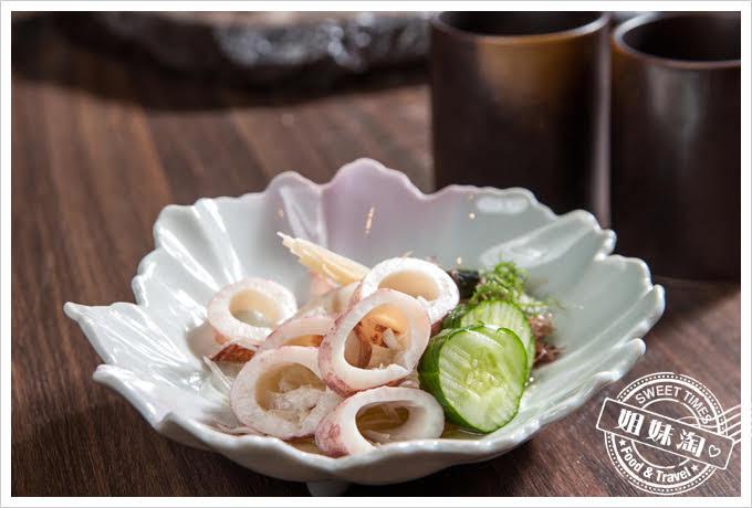 墨吉日本料理醋味花枝