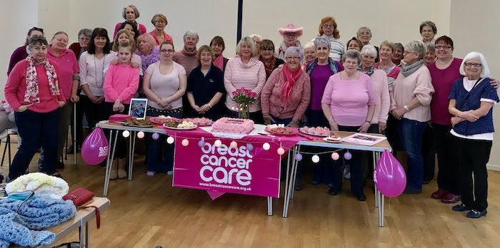 Knit and Natter group raises £1,000