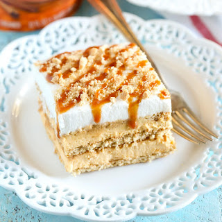 No-Bake Pumpkin Caramel Icebox Cake