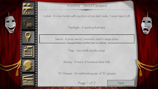 The Filmmaker - Text Adventure- screenshot thumbnail
