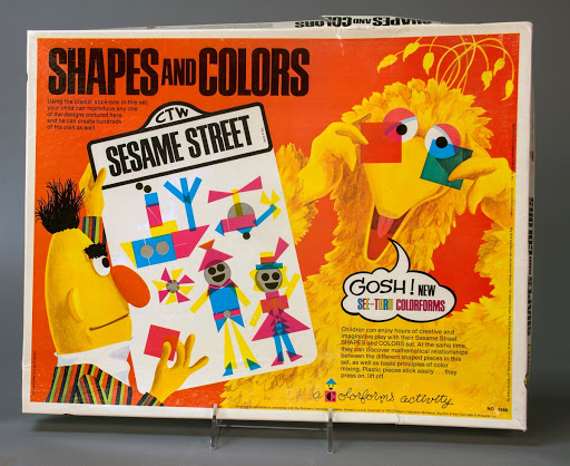 Play set:Sesame Street Shapes and Colors
