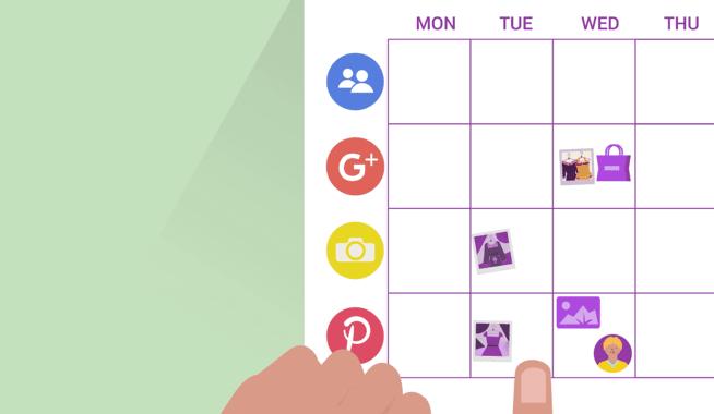 Langfristiger Plan für soziale Medien