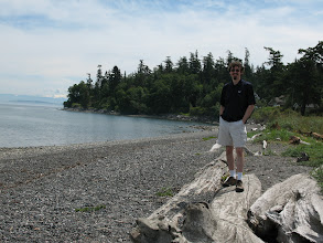 Photo: Day 6: North beach on Orcas Island. It's only a 2-minute bike ride from the Kangaroo house.